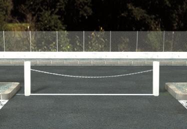 Barrière à chaîne motorisée pour entreprise et collectif et porte de garage