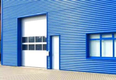 Porte de garage Bas Rhin sectionnelle et basculante industrielle