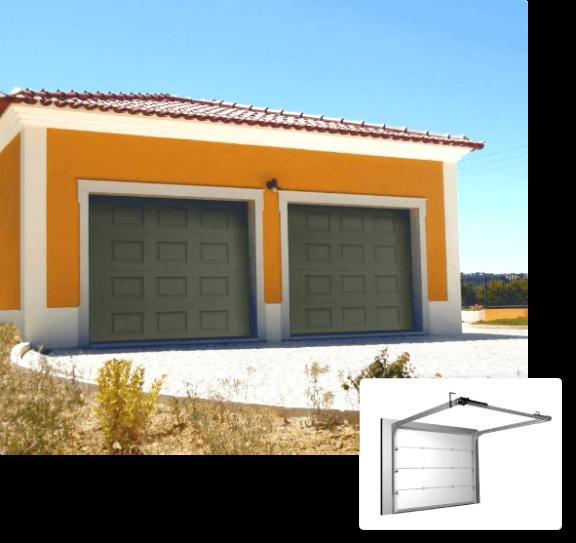 Automatisme bâtiment pour porte de garage