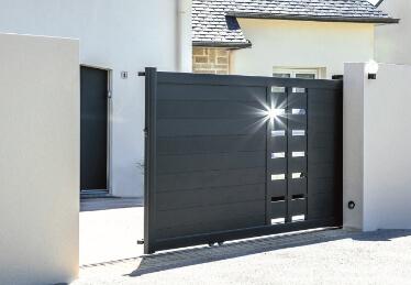 Réparation de portail électrique coulissant résidentiel et porte de garage en Alsace